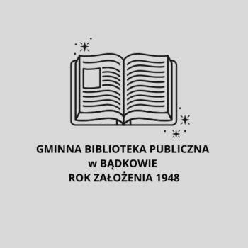 Logo Gminnej Biblioteki Publicznej w Bądkowie